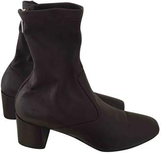 Fratelli Rossetti \N Burgundy Leather Ankle boots