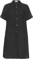 Raey Dolman-sleeve linen shirtdress