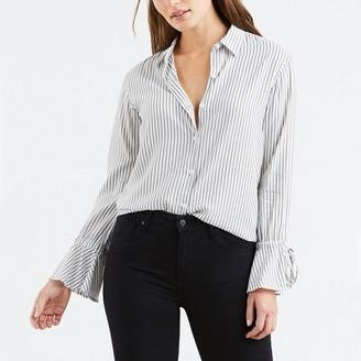 Levi's Striped Elsie Tie Sleeve Shirt