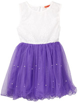 Funkyberry Lace Bodice Tulle Dress (Toddler, Little Girls, & Big Girls)