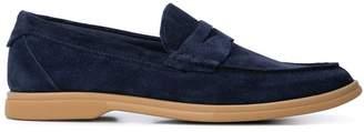 Brunello Cucinelli contrast sole loafers