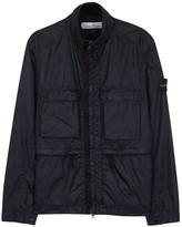 Stone Island Navy Water-resistant Shell Windcheater