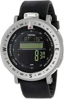 Vestal Men's GDEDP01 The Guide: Altimeter Barometer Compass Silver Watch