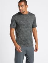 Marks and Spencer Slim Fit Textured Crew Neck T-Shirt
