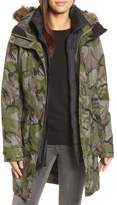 The North Face Outer Boroughs 3-in-1 TriClimate(R) Waterproof Jacket with Faux Fur Trim