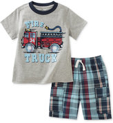 Kids Headquarters 2-Pc. Graphic-Print T-Shirt & Shorts Set, Toddler & Little Boys (2T-7)
