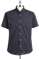 7 Diamonds Short-Sleeve Sportshirt