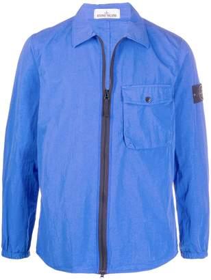 Stone Island zipped chest-pocket jacket