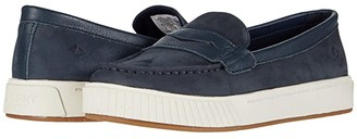 Sperry Anchor PlushWave Penny Sneaker (Navy) Women's Shoes