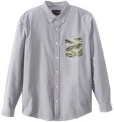 Hurley Men's Ace Oxford L/S Shirt 48075