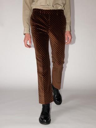 Gucci Lvr Exclusives Velvet Pants
