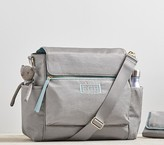 Pottery Barn Kids The Ultimate Diaper Bag, Gray/Aqua