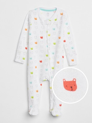 Gap Baby First Favorite Print Footed One-Piece