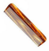 "Kent FOT- Men's All Fine Toothed Small 113mm/4.44"" Handmade Pocket Comb"