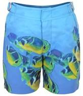 Orlebar Brown Fish Print Swim Shorts