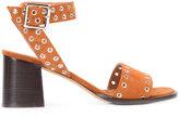 Derek Lam Jacqui block heel sandals - women - Leather/Suede - 37.5
