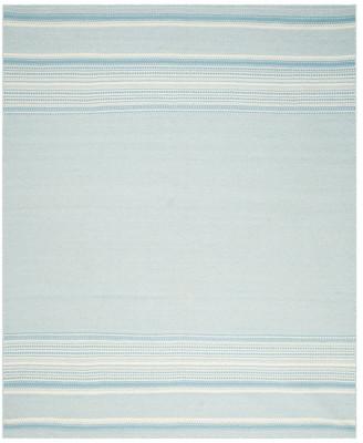 Safavieh Kilim Collection KLM419 Rug, Light Blue/Ivory, 8' X 10'