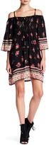 Angie Crochet Cold Shoulder Dress