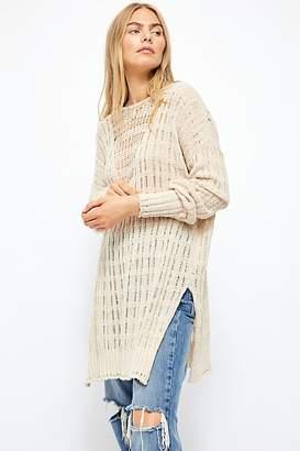 Free People Pretty In Pointelle Sweater