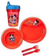 Disney Mickey Mouse Feeding Set, Mickey Mouse