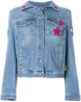 Ermanno Scervino star-embroidered denim jacket