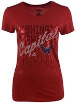 VF Licensed Sports Group Women's Washington Capitals Hip Check T-Shirt