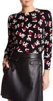 Love Moschino Love Pattern Sweater