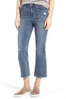 Caslon Crop Flare Leg Jeans (Regular & Petite)