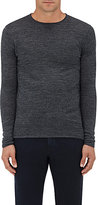 Barneys New York MEN'S ROLLED-EDGE WOOL SWEATER