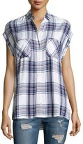Rails Britt Plaid Short-Sleeve Shirt, Multi