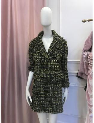 Dolce & Gabbana Green Tweed Jackets