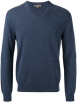 N.Peal cashmere V neck pullover