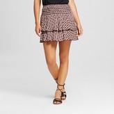 Women's Printed Smocked Waist Skirt - 3Hearts (Juniors')