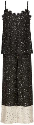 Ethereal London Black Kaya Loungewear Long