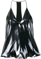 Isabel Marant metallized top