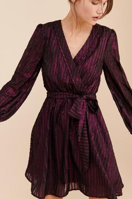 ModCloth Metallic Shine A-line Mini Dress