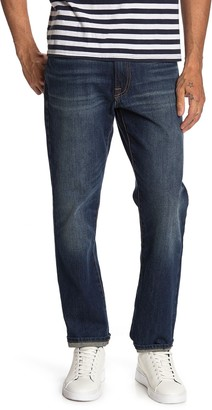 """Lucky Brand Slim Straight Mid Rise Jeans - 30-34"""" Inseam"""