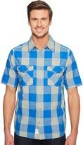 Woolrich Zephyr Ridge Space Dye Shirt Men's Short Sleeve Button Up