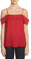 1 STATE Spaghetti Strap Cold-Shoulder Top