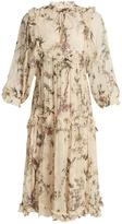 Zimmermann Maples floral-print tie-waist dress