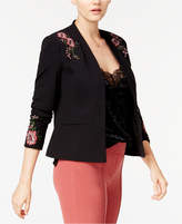XOXO Juniors' Embroidered Blazer