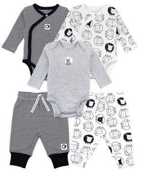 M·A·C Mac & Moon Baby Boy's Mix & Match Play Bundle Cotton Gift Set