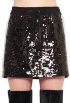 Alberta Ferretti Sequinned Mini Skirt