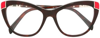 Emilio Pucci Butterfly Frame Glasses