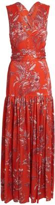 Alexis Belaya Floral Maxi Wrap Dress