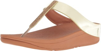 FitFlop Women's FINO Crystal Toe-Thong Sandals