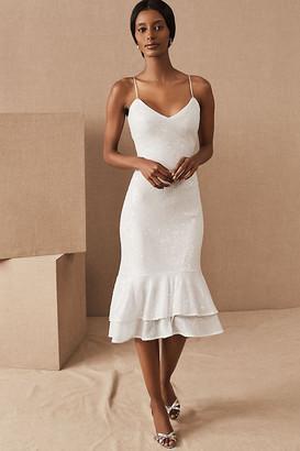 Sachin + Babi Odelle Dress By in White Size 14