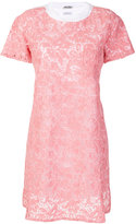 Miu Miu lace shift dress