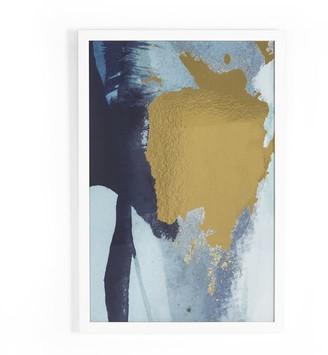 west elm The Arts Capsule Framed Print - Jade