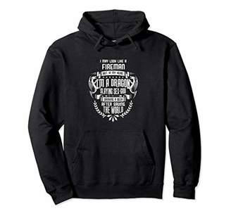 Dragon Optical Fireman I'm a Slaying Sex God Beer Saving World Pullover Hoodie